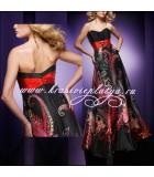 Вечернее платье с восточным принтом