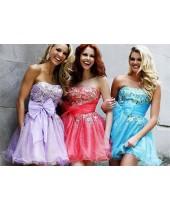 Вечерние короткие платья-модные тенденции 2015